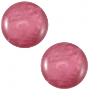 Cabochon Polaris Mosso shiny 12mm Rose wood purple