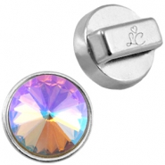Love Crystals setting/slider Zilver