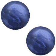 Polaris cabochon 20mm Mosso shiny Midnight blue