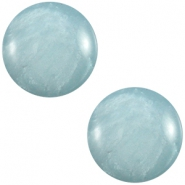 Polaris cabochon 7mm Mosso shiny Haze blue