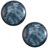 Polaris cabochon 7mm Jais Denim blue