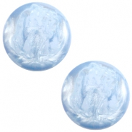 Polaris cabochon 7mm Jais Cloud blue