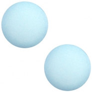 Cabochon Polaris Elements matt 7mm Aquamarine blue