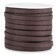 Trendy Jean-Jean koord plat 5mm Aubergine brown