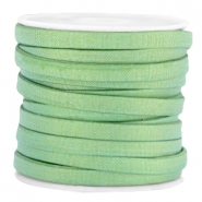 Trendy Jean-Jean koord plat 5mm Crysolite green