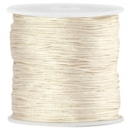 Macramé satijndraad 0.8mm Light champagne beige