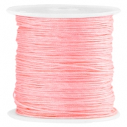 Macramé satijndraad 0.8mm Bright rose peach