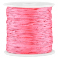 Macramé satijndraad 0.8mm Raspberry rose
