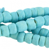 Disc kralen kokos 4 mm Light turquoise