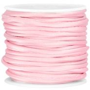 Wrap satijn koord 3mm Sweet pink