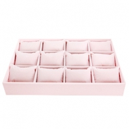 Sieraad display materiaal Soft pink