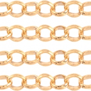 Basic Quality metaal jasseron 6mm Light rose gold