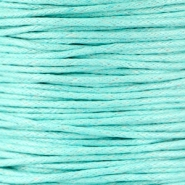 Waxkoord 1.5 mm Light turquoise mint