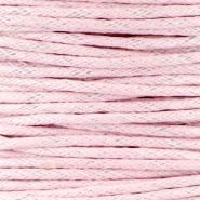 Waxkoord 1.5 mm Light pink
