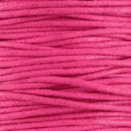 Waxkoord 1.5 mm Hot Pink