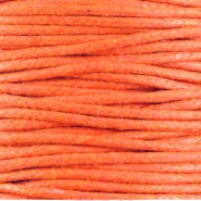 Waxkoord 1.5 mm Warm orange