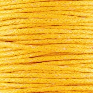 Waxkoord 1.5 mm Sunflower Yellow