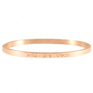 Quote armbanden thin Rosegold