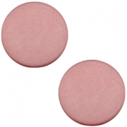 Cabochon Polaris plat 20mm matt Antique pink