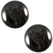 Polaris cabochon Jais 20mm Black