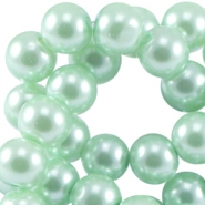 Top quality glasparel 4 mm Crysolite green