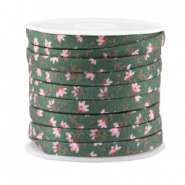 Trendy plat koord 5mm Pine green
