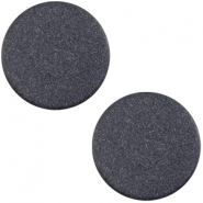 Polaris cabochon soft tone plat 20mm matt Montana blue