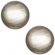 Polaris cabochon soft tone 12mm shiny Greige