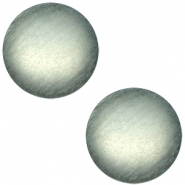 Polaris cabochon soft tone 20mm matt Green grey