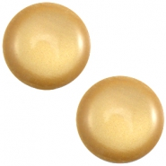 Polaris cabochon soft tone 20mm shiny Golden yellow