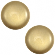 Polaris cabochon soft tone 20mm shiny Khaki green