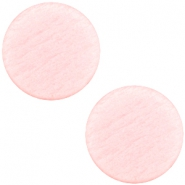 Polaris cabochon soft tone plat 20mm matt Pink