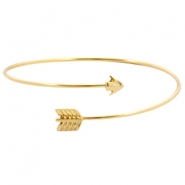 Armband metaal Bow & Arrow Goud