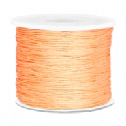 Macramé draad 0.7mm Peach orange