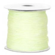 Macramé draad Light citrine green