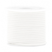 Trendy koord surfkoord rond 2mm White