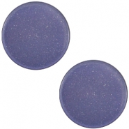 12 mm platte cabochon Super Polaris Midnight blue