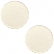 20 mm platte cabochon Super Polaris Silk beige
