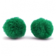 Pompom bedel 15mm Classic green