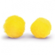 Pompom bedel 15mm Yellow