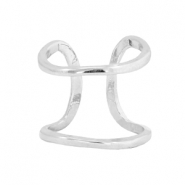 Musthave cuff ringen Zilver