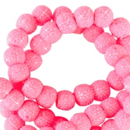 Sparkling beads 8mm Tropical pink