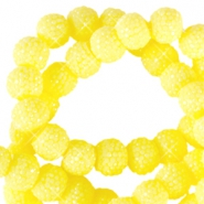 Sparkling beads 8mm Light yellow