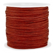 Macramé draad 0.8mm Pomegranate brown