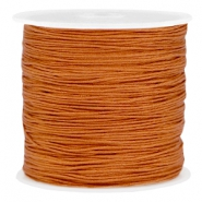 Macramé draad 0.8mm Copper brown