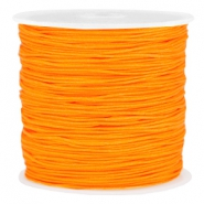 Macramé draad 0.8mm Spicy orange