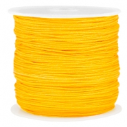 Macramé draad 0.8mm Sunflower yellow