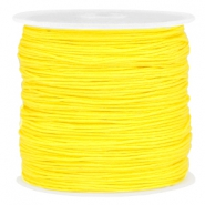 Macramé draad 0.8mm Bright yellow