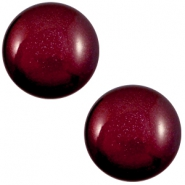 12 mm classic cabochon Super Polaris Royale aubergine