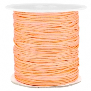 Macramé draad 1.0mm Peach orange